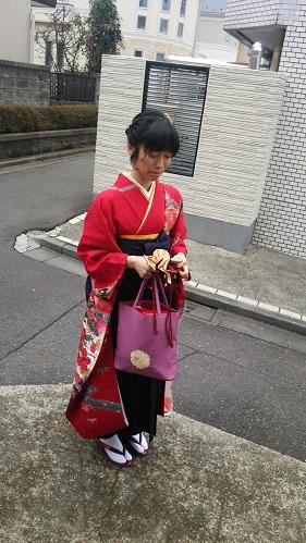 卒業式 袴3