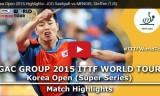 朱世赫VSメンゲル(2回戦)韓国オープン2015