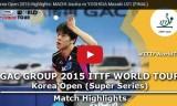 吉田雅己VS町飛鳥(決勝)韓国オープン2015
