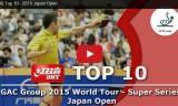 トップ10ショット ジャパンオープン2015