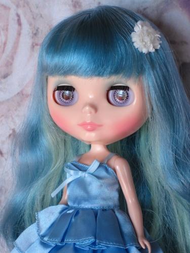 青いゼリー