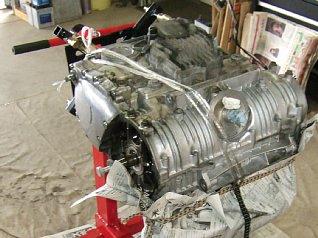 CB750 K4 エンジン