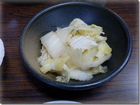 白菜糀漬け