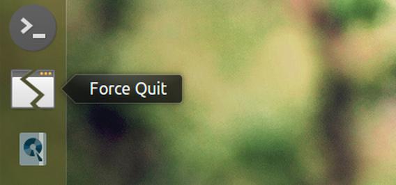 FlashFreeze Ubuntu 15.04 アプリの強制終了