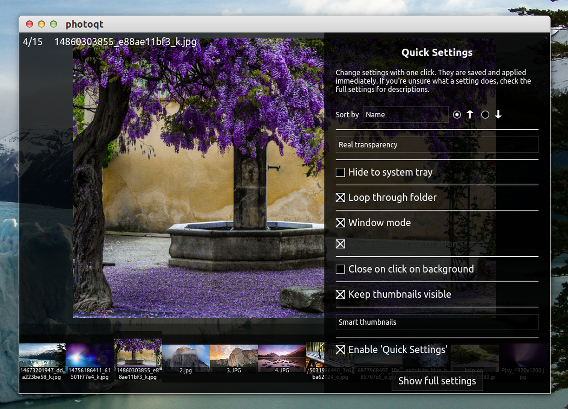 PhotoQt 1.2 Ubuntu 画像ビューア
