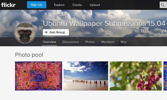 Ubuntu 15.04 壁紙コンテスト