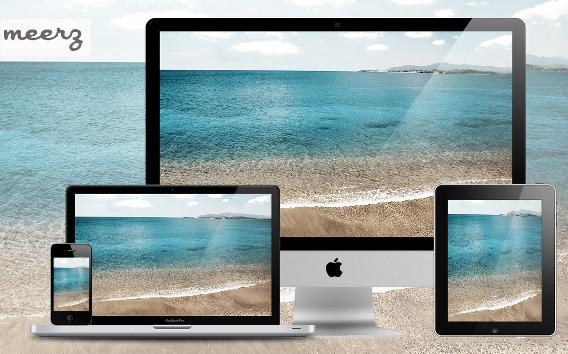 Wallpaper 5 - Shore Ubuntu 壁紙