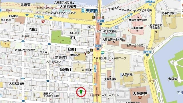 中谷ビル地図