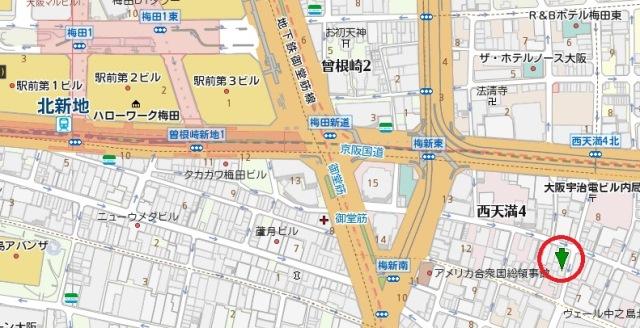 不動ビル地図