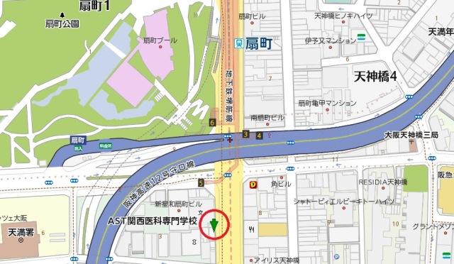扇広ビル地図