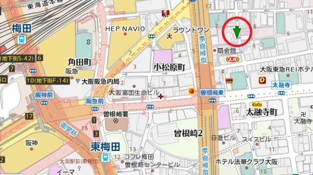 東大門ビル地図