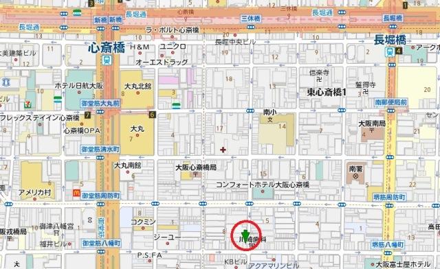 笠屋町センター位置図