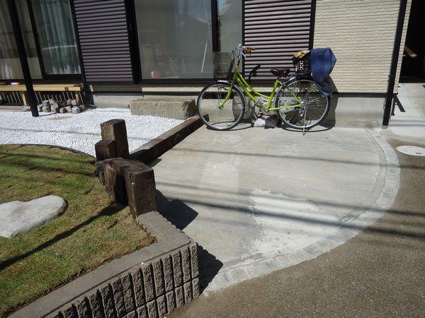 駐輪場完成