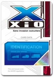 XiO隊員証