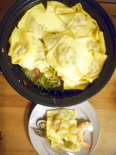 「クッキングパパ」(うえやまとち)のイタリアン鍋DX2(ラビオリアン鍋)