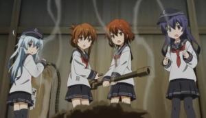 駆逐艦幼4姉妹?