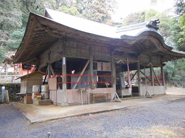 高倉神社へ行く(三重県伊賀市西...