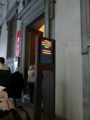 フィレンツェ ウッフィツィ美術館