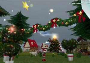 農場もクリスマス仕様