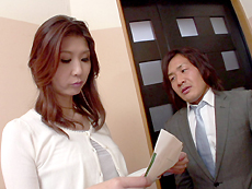 【無修正】【中出し】淫乱熟女の痴態 吉岡奈々子