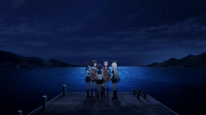 艦これアニメ#5 睦月の塗りミスってる・・・