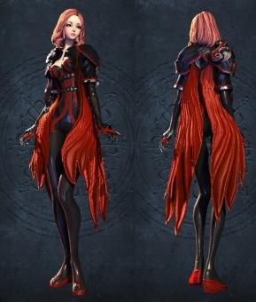 深紅の羽1