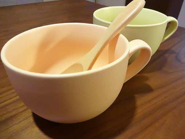 かわいいスープカップフランフラン