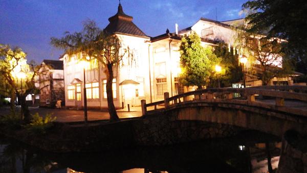 夜の倉敷館