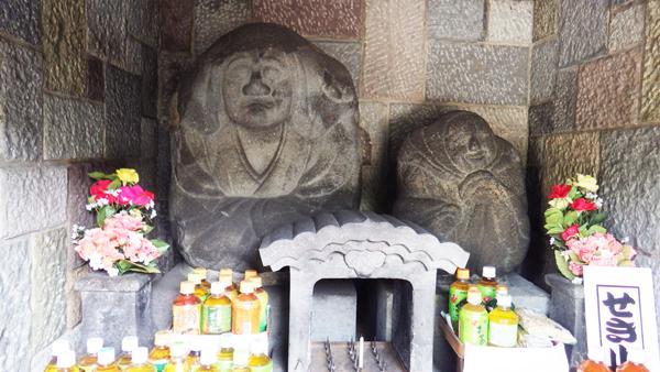 弘福寺「咳の爺婆尊」