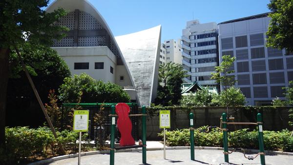 新宿中央公園から太宗寺