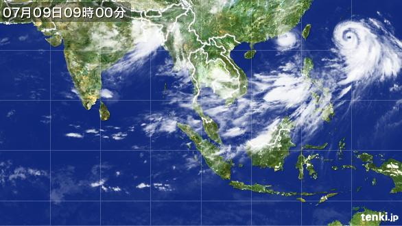 衛星天気画像
