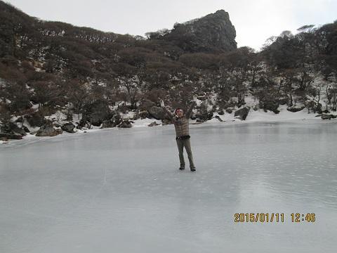 氷上の小生