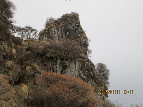 入山公の兜岩