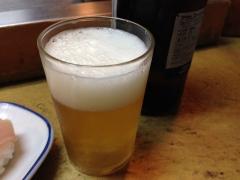 親子寿し:ビール