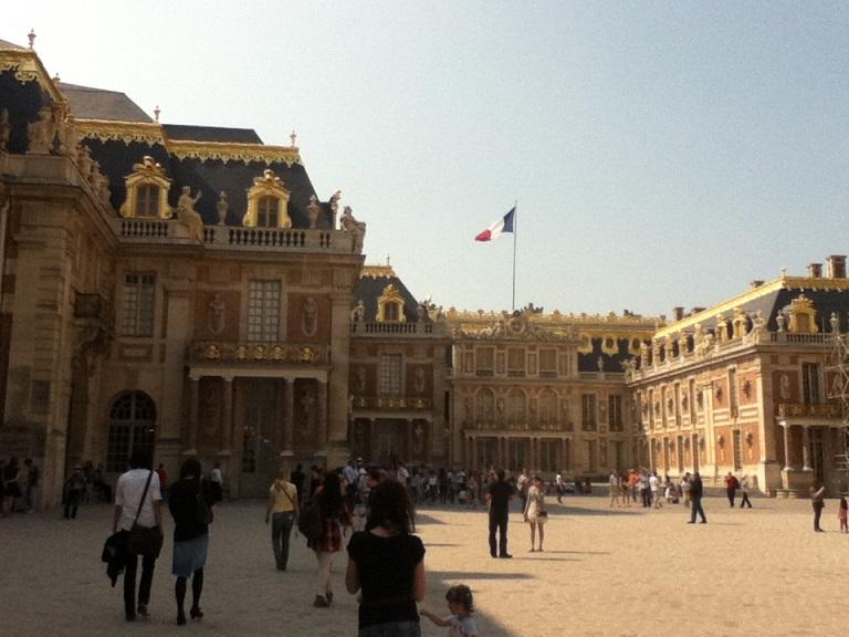 パリ ベルサイユ宮殿4