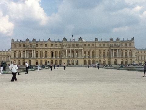 パリ ベルサイユ宮殿庭園2