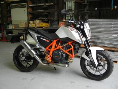 KTM 690 DUKE      スリップオン (4)