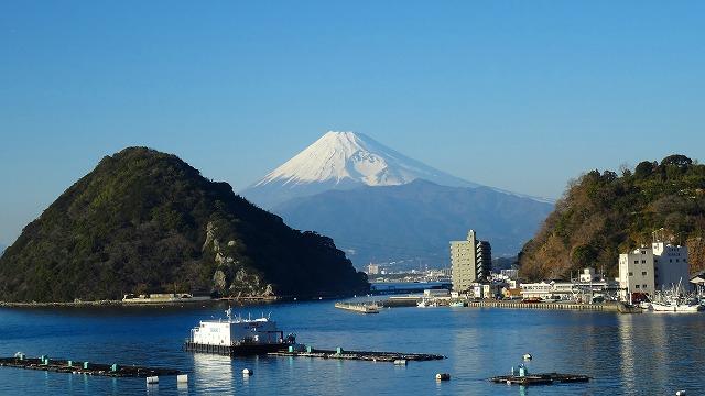 最初の富士山