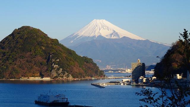 風呂からの富士山