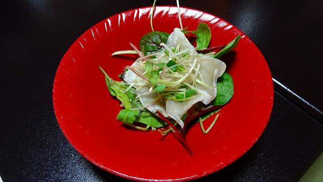 河豚サラダ