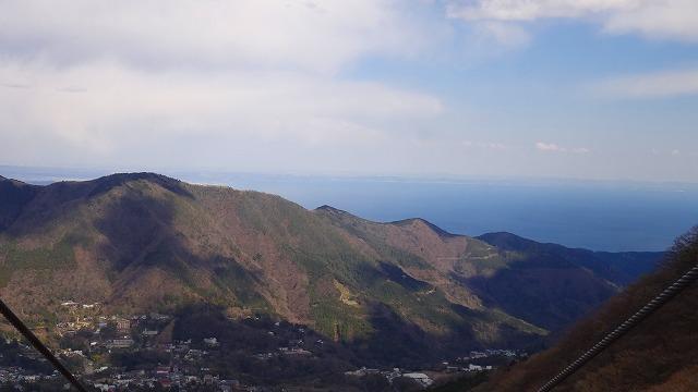 早雲山の海