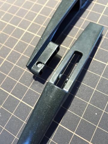 リアワイパーのグロスブラック化4