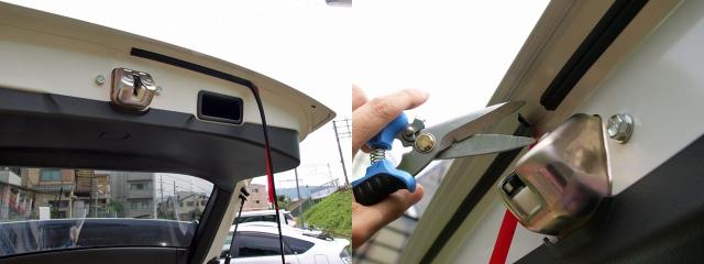 風切り音防止テープリアハッチ用6