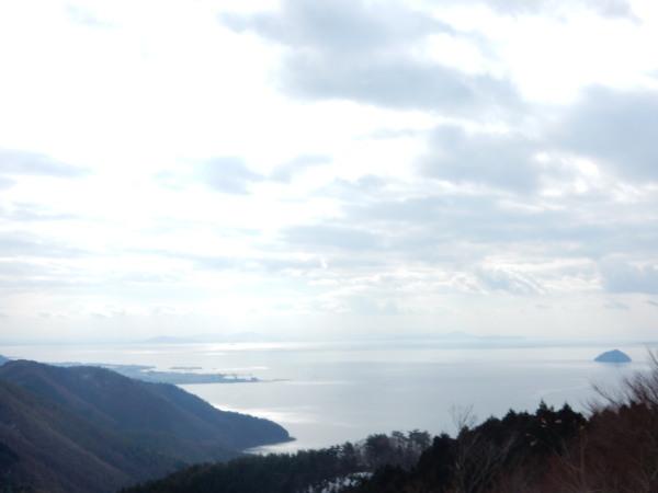 賤ヶ岳より琵琶湖