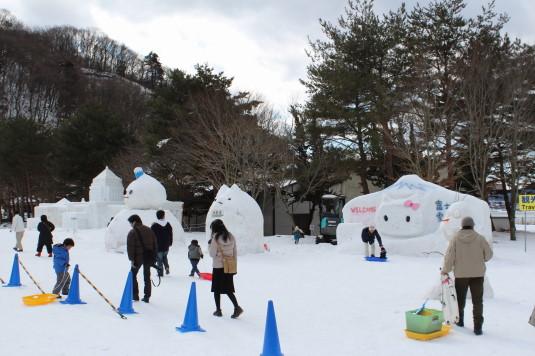 富士山雪まつり 会場