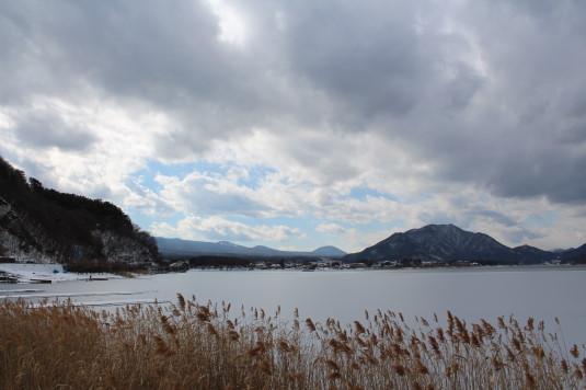 富士山雪まつり 富士山は見えない