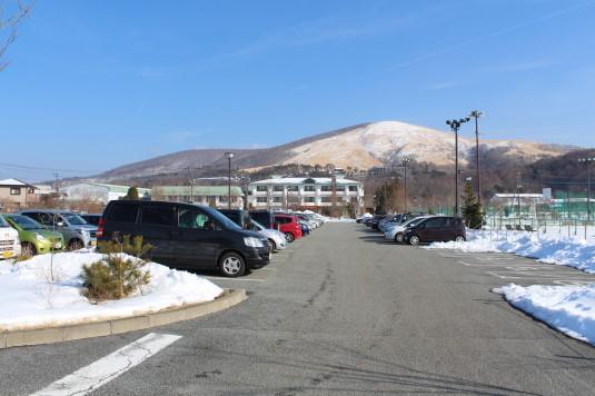 山中湖アイスキャンドル 駐車場