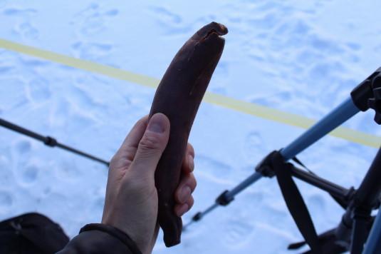山中湖アイスキャンドル 焼き芋