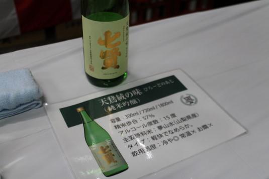七賢酒造開放 説明
