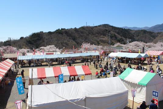 桜 大法師公園 フードコート